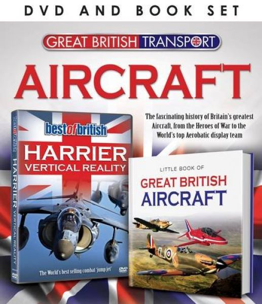 Great British Transport: Aircraft (Includes Book)