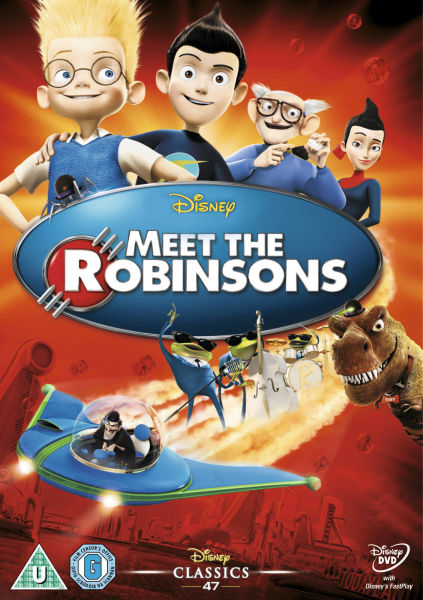 Meet the robinsons dvd zavvi
