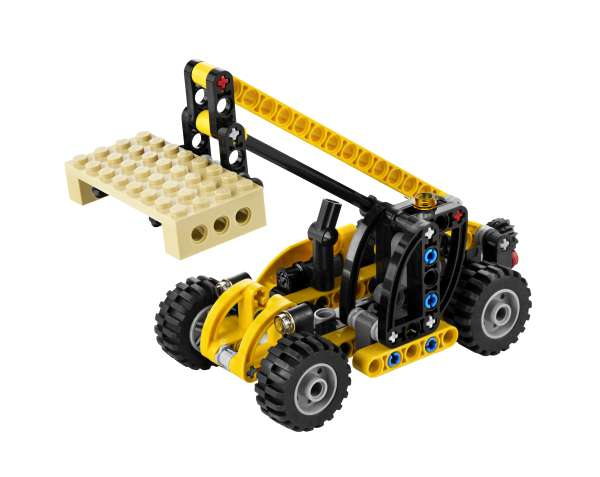 lego technic mini telehandler 8045 toys. Black Bedroom Furniture Sets. Home Design Ideas