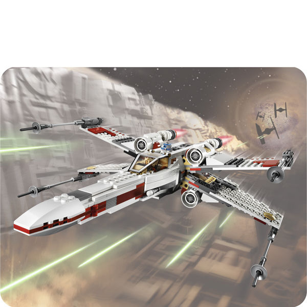 Buy Lego Star Wars Y Wing Starfighter: LEGO Star Wars: X Wing Starfighter (9493) Toys