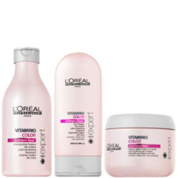 L'Oréal Professionnel Série Expert Vitamino Colour Pack (3 Products) | Free Shipping | Lookfantastic