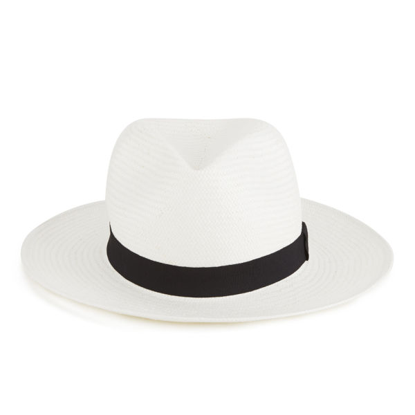French Connection Women s Gail Trilby Floppy Hat - Summer White  Image 1 40854c3efcb