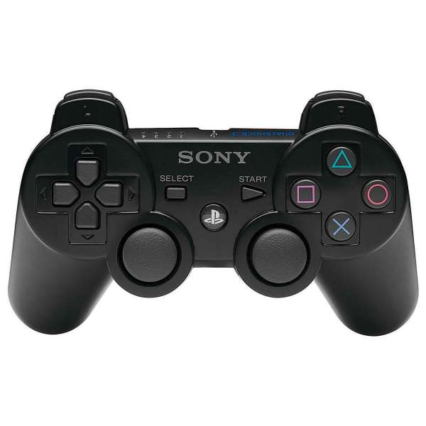 dual shock 3 ps3 controller games accessories. Black Bedroom Furniture Sets. Home Design Ideas