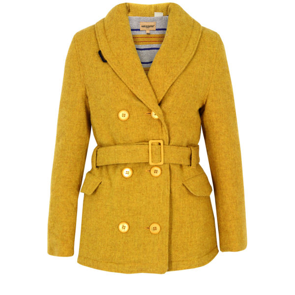 Levi's Made & Crafted Women's Double Breasted Coat - Yellow