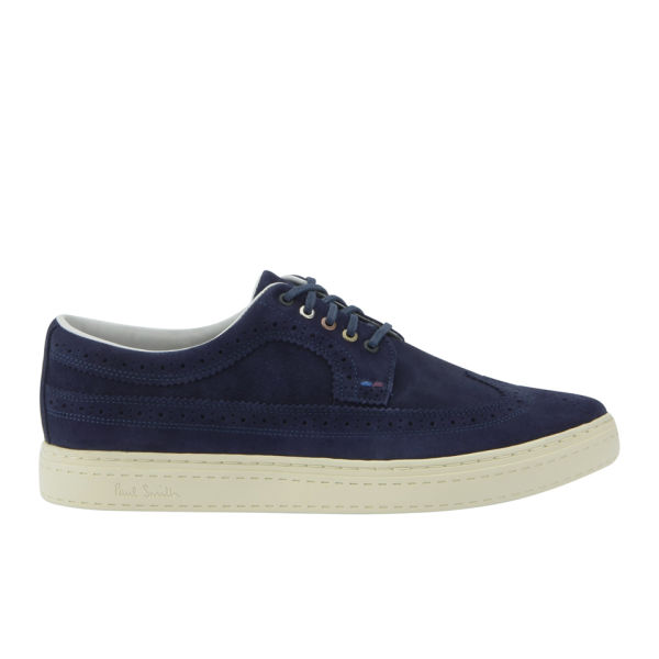Paul Smith Shoes Men's Merced Trainer/Brogues - Navy Suede