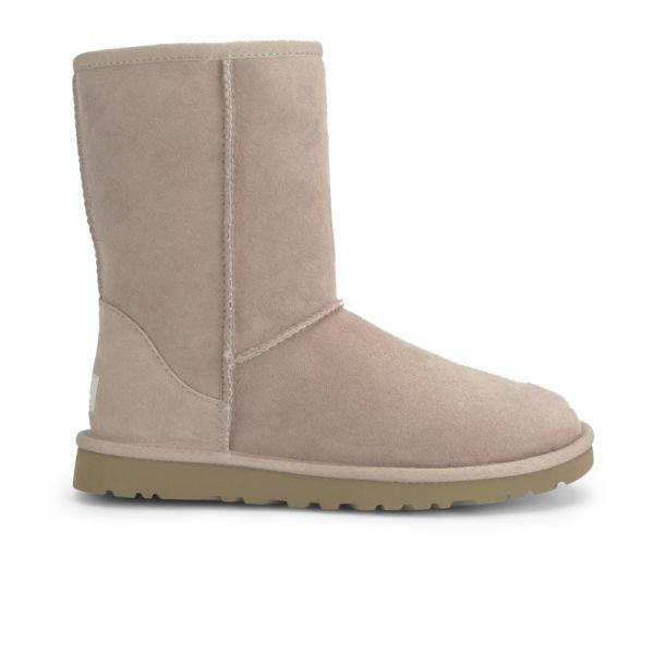 UGG Women's Classic Short Sheepskin Boots - Mushroom