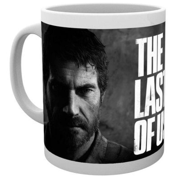 The Last of Us Black and White Mug