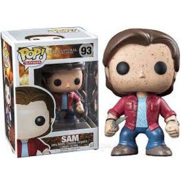 Supernatural Sam Blood Splatter Exclusive Pop! Vinyl Figure