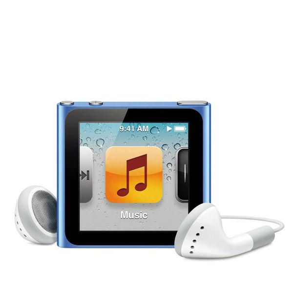 Apple Ipod Nano 8gb Blue 6th Generation Electronics