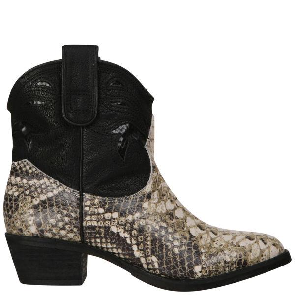 eaf113e6d Sam Edelman Women s Stevie Cowboy Boots - Snake Skin  Image 3