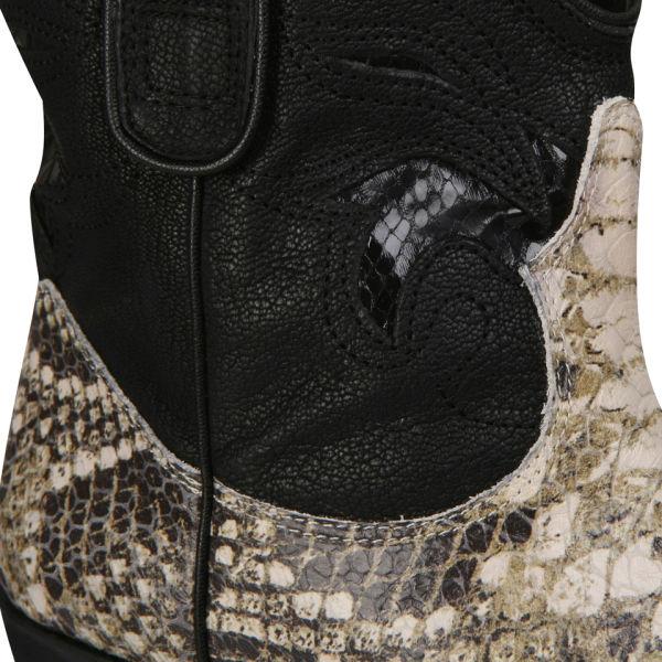 cad74f8e918d0 Sam Edelman Women s Stevie Cowboy Boots - Snake Skin  Image 4