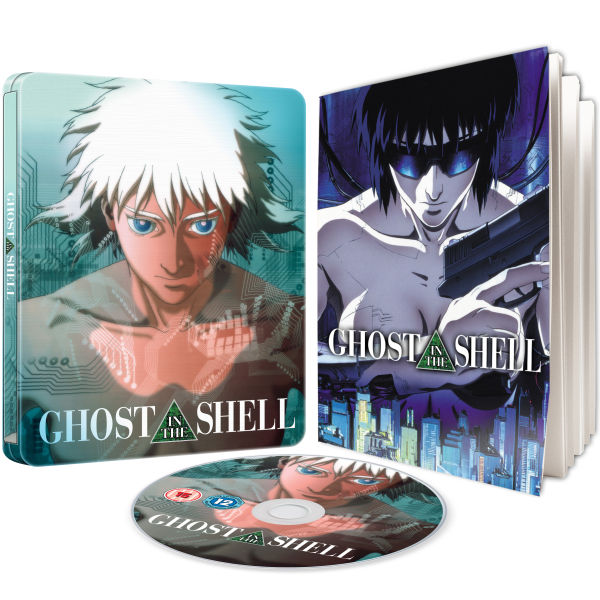 Ghost In The Shell - Limited Edition Steelbook (Includes Booklet) (UK EDITION)