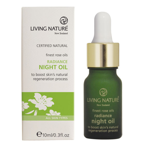 Living Nature Radiance Night Oil .3oz
