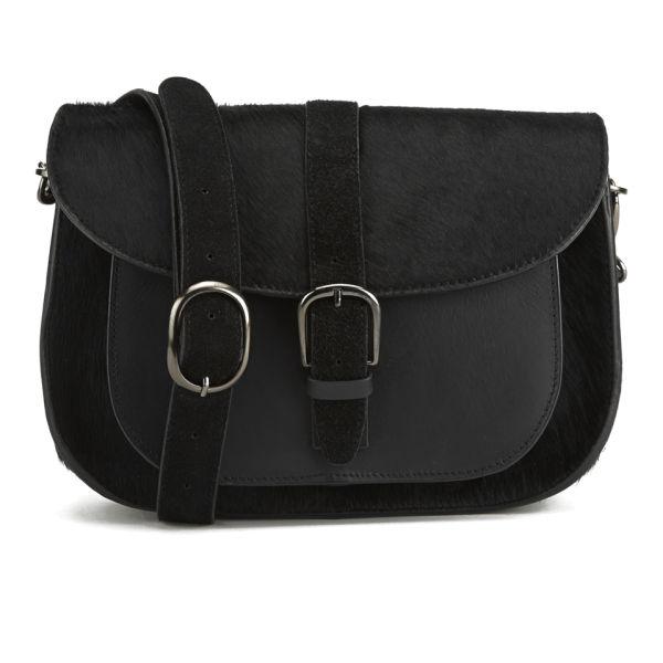 Maison Scotch Pony Cross Body Bag - Black