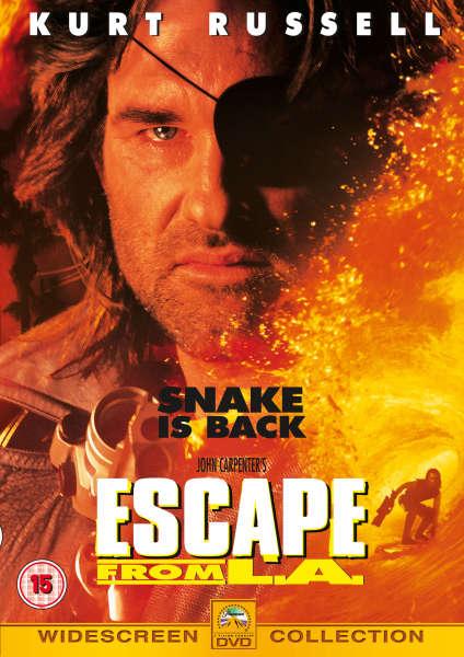 Escape From L A Dvd Zavvi
