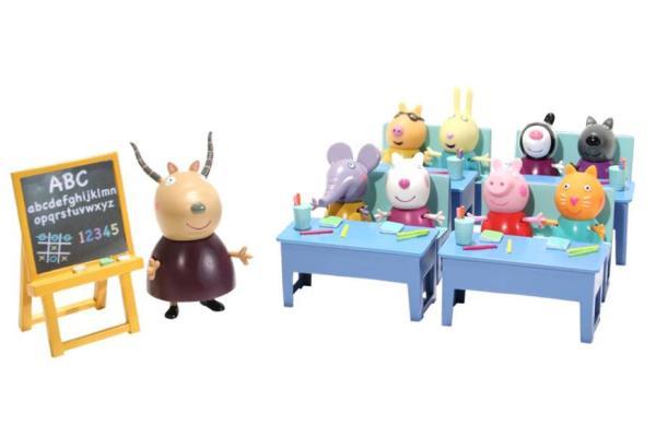 Peppa Pig Classroom Playset Toys Thehut Com