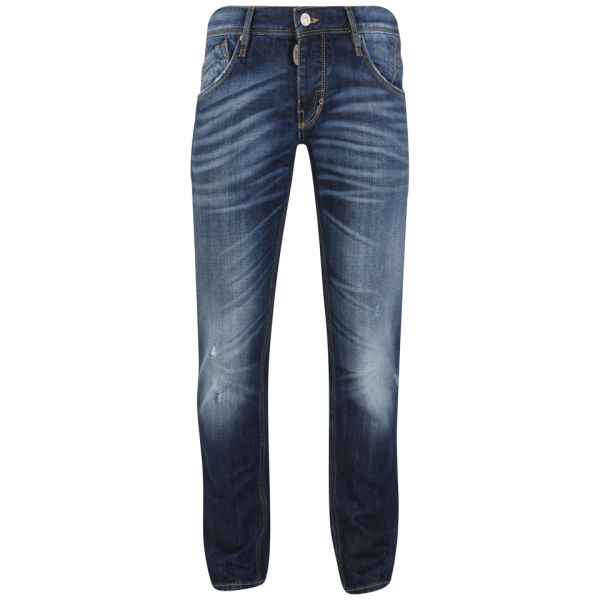 2b5f1ac141b Antony Morato Men s Super Slim Jeans - Blue Denim Wash Mens Clothing ...