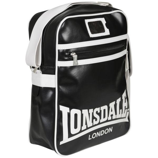 5ffb44930e2b Lonsdale Messenger Bag - Black Mens Accessories