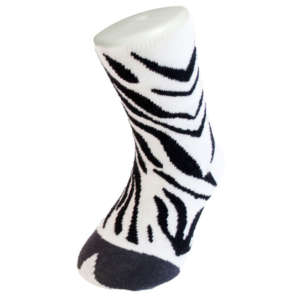 Silly Socks Kids' Zebra - UK Size 1-4