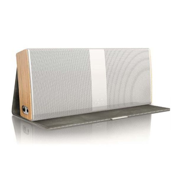 Philips Bluetooth Speaker Portable: Philips Fidelio P9 Bluetooth Wireless Portable Speaker - White Electronics