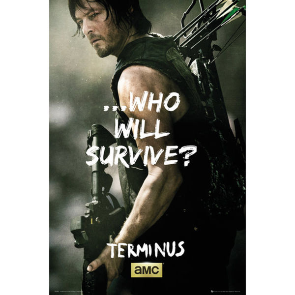 The Walking Dead Daryl Survive - Maxi Poster - 61 x 91.5cm