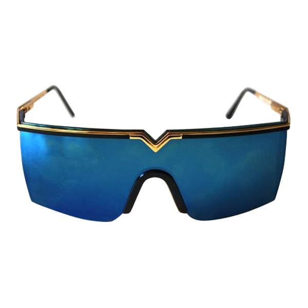 16f5c309ce705 Rare Vintage Gianni Versace S90 Sunglasses  Image 1