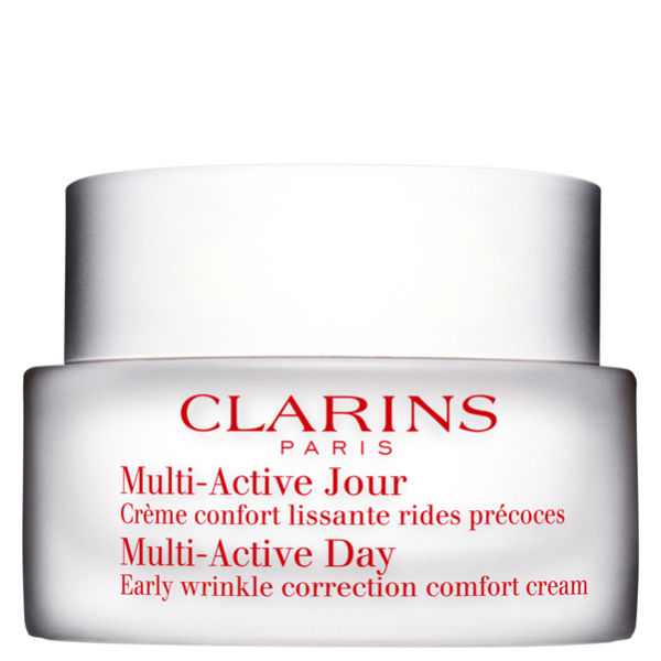 clarins multi active day early wrinkle correction cream for dry skin 50ml free shipping. Black Bedroom Furniture Sets. Home Design Ideas
