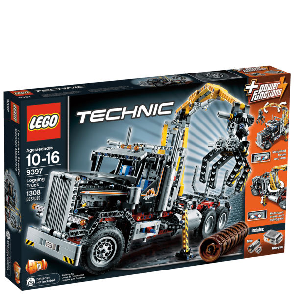 lego technic logging truck 9397 toys. Black Bedroom Furniture Sets. Home Design Ideas