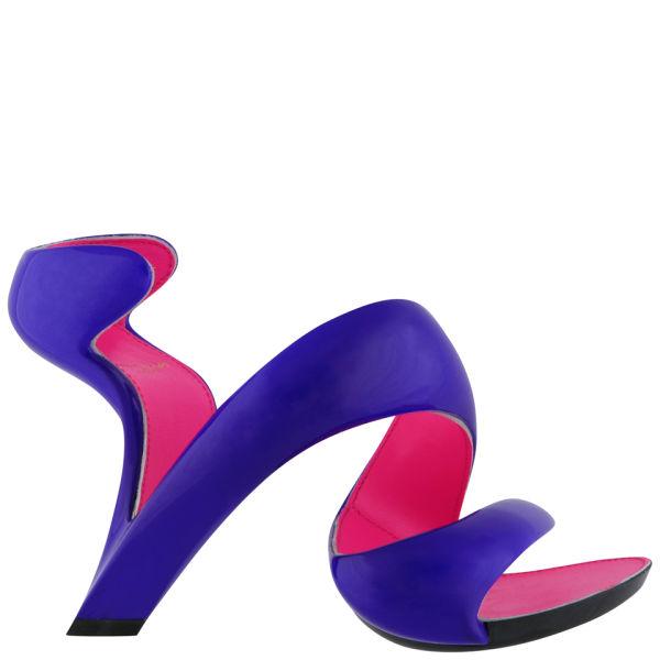 Julian Hakes Women's Mojito Shoe -Electric Blue / Fuchsia