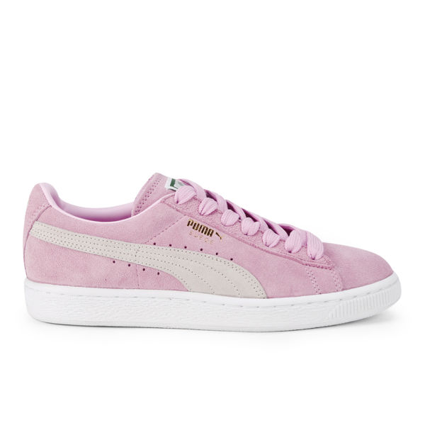 puma women 39 s suede classics pastel trainers pink white. Black Bedroom Furniture Sets. Home Design Ideas