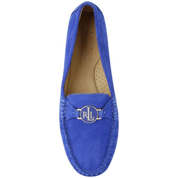 Lauren Ralph Lauren Women s Carley Suede Loafers - Regatta Blue  Image 5