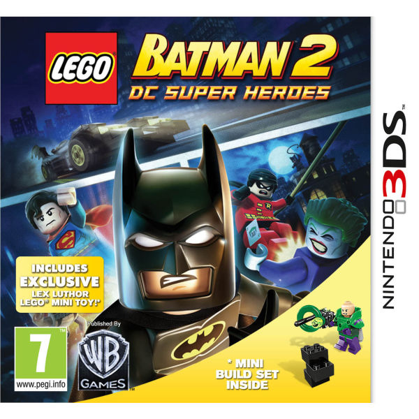 LEGO Batman 2: DC Super Heroes (Includes exclusive Lex Luthor Mini ...
