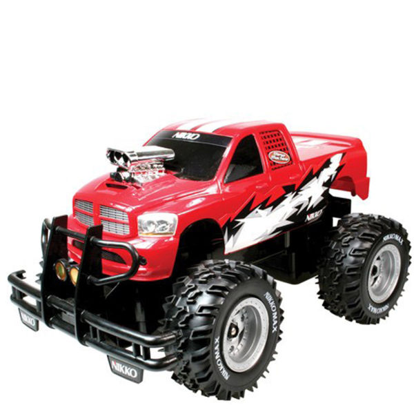 Monster Truck Dodge Ram >> Nikko: Mega Machine Radio Control Monster Truck | IWOOT