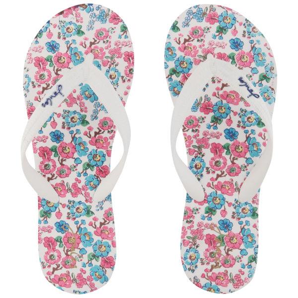 Joules Women's Jenny Flip Flops - Ditsy