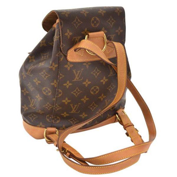 abe566c66a34 Louis Vuitton Vintage Brown Monogram Canvas Backpack  Image 2
