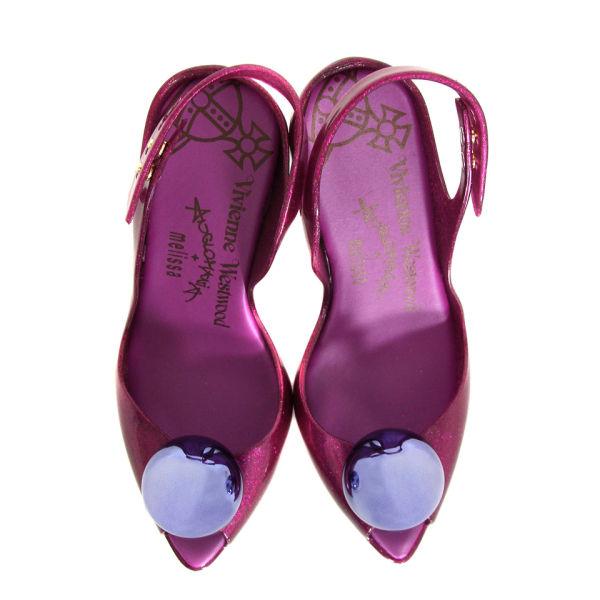 Vivienne Westwood - Shoes Women s Lady Dragon V11 Globe Shoes - Amethyst   Image 3 82d8129781ba
