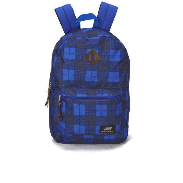 New Balance Check Backpack - Blue Check