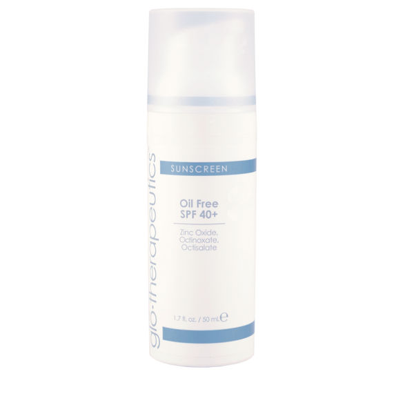 glo therapeutics Oil Free Sunscreen Spf40+