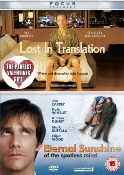 Lost In Translation Eternal Sunshine Of The Spotless Mind
