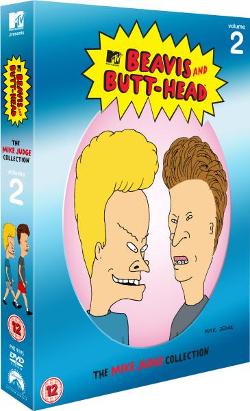 Beavis And Butthead Volume 2 Dvd Zavvi
