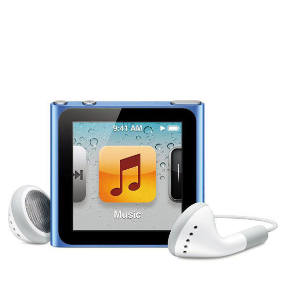 apple ipod nano 16gb blue 6th generation electronics. Black Bedroom Furniture Sets. Home Design Ideas