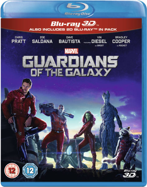 Guardians of the Galaxy 3D