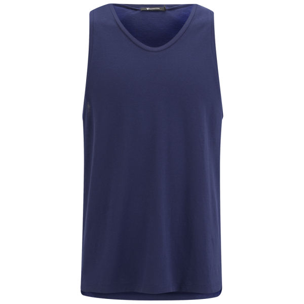 T by Alexander Wang Men's Neo-Dry Cotton Jersey Tank Top - Sapphire