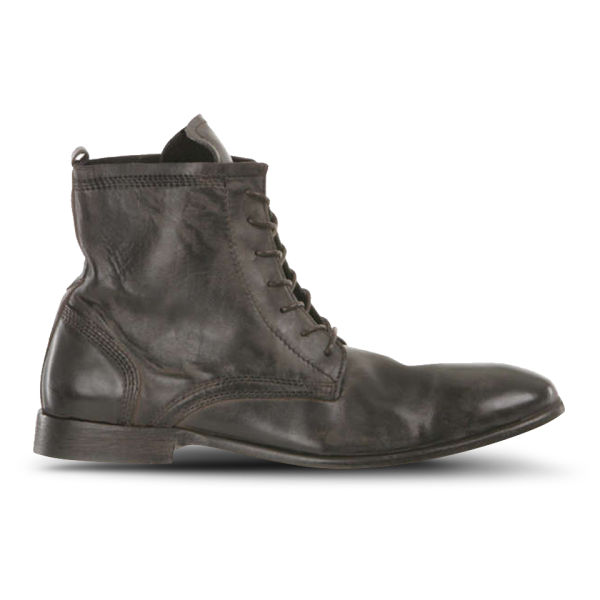 Hudson London Men's Swathmore Calf Leather Boots - Black
