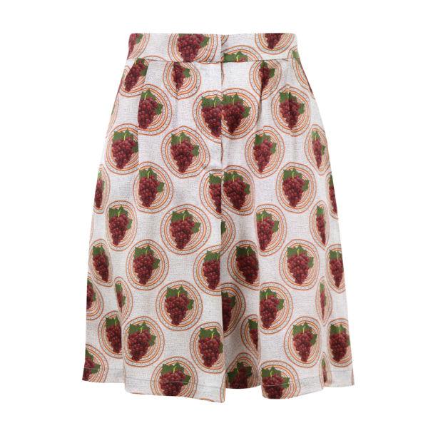 Charlotte Taylor Women's Grape Print Culottes - Multi