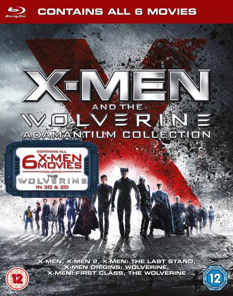 X-Men and The Wolverine Adamantium Collection