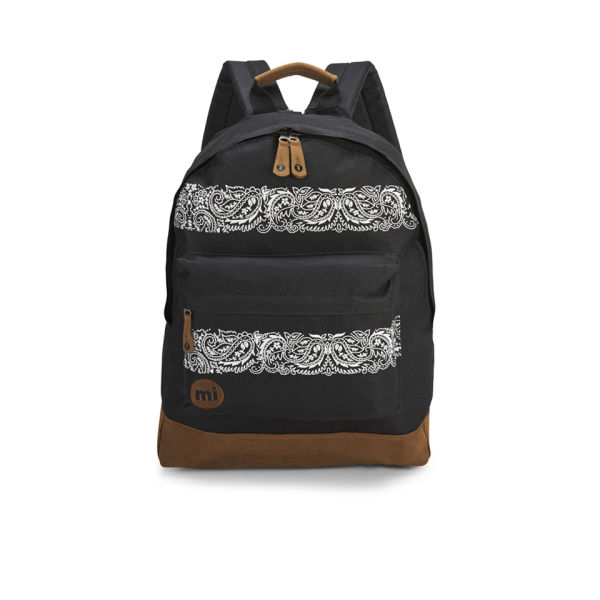 mi pac bandana backpack black clothing. Black Bedroom Furniture Sets. Home Design Ideas