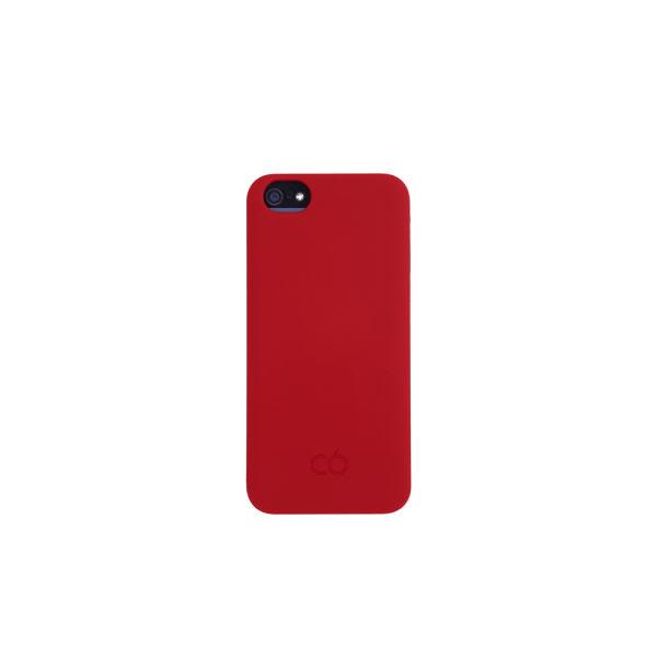C6 Hard iPhone 5 Case - Red