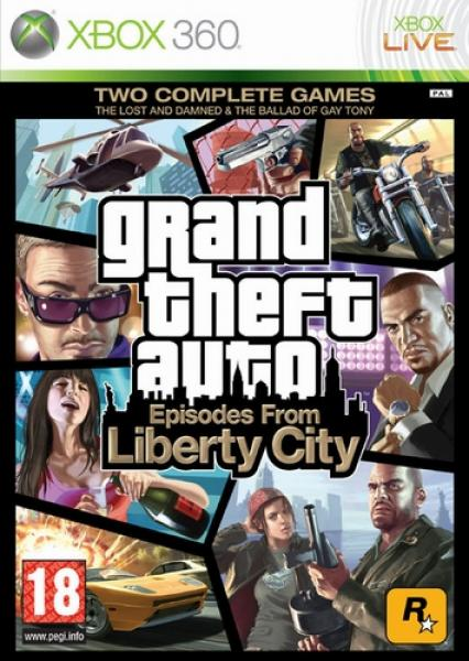 grand theft auto iv episodes from liberty city xbox 360. Black Bedroom Furniture Sets. Home Design Ideas