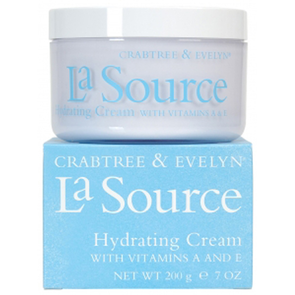 Crema hidratante Crabtree & Evelyn La Source con vitaminas A y E (200 g)